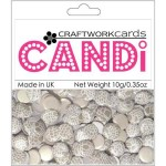Chantily Olive candi dot embellishment from craftworkcards