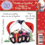 Christmas Cuddles rubber stamp from Crafters Companion