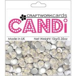 Earl grey candi dot embellishment from craftworkcards