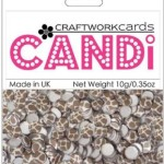 Giraffe candi dot embellishment from craftworkcards
