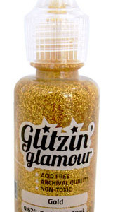 Gold Glitzin Glamour glitter glue from Couture Creations