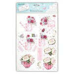 Herb Garden Decoupage Set from DoCraft Papermania
