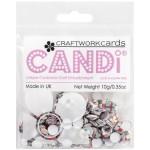 Jukebox candi dot embellishment from craftworkcards