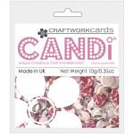 Mistletoe candi dot embellishment from craftworkcards