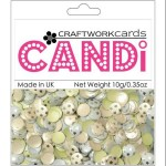 Nightingale Square candi dot embellishment from craftworkcards