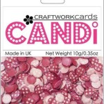 Passionista candi dot embellishment from craftworkcards