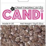 Safari Cheetah candi dot embellishment from craftworkcards