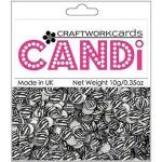 Safari Zebra candi dot embellishment from craftworkcards