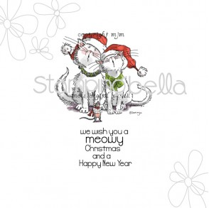 Singing So Beautiful Rubber Stamp from Stamping Bella