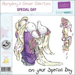 Special Day rubber stamp from Crafters Companion