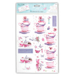 Tea and Cake Decoupage Set from DoCraft Papermania