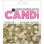 Texture Gold candi dot embellishment from craftworkcards