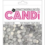 Texture Silver candi dot embellishment from craftworkcards