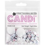 afternoon tea candi dot embellishment from craftworkcards