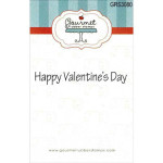Happy Valentines day rubber stamp from Gourmet Rubber Stamps