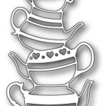 Teapot Stack die from Poppystamps