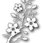 Blushing Flower Branch die from Memory Box